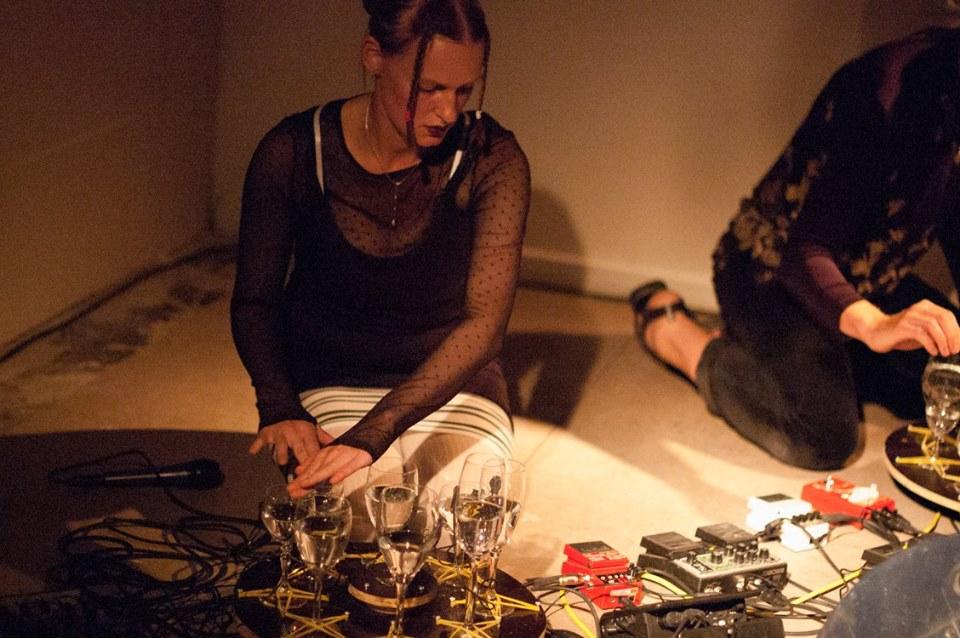 Duo Demona, Sensorium sound art festival, Aarhus 2018